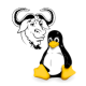 GNU / Linux (inoffiziell)